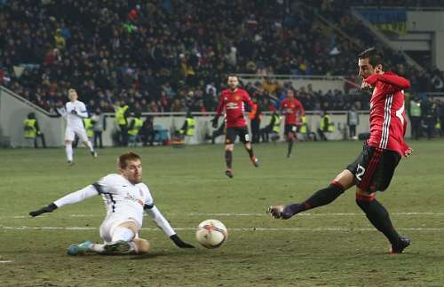 Mkhitaryan Twitter Reacts Europa Manchester United Zorya