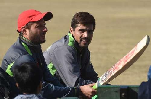 Shahid Afridi and Mohammad Amir