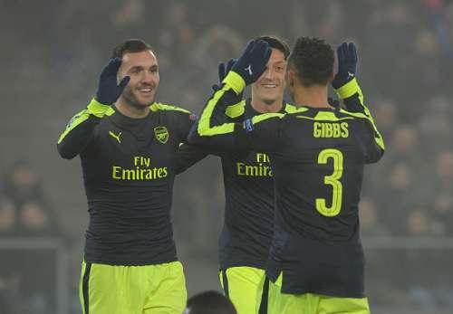 Basel 1-4 Arsenal