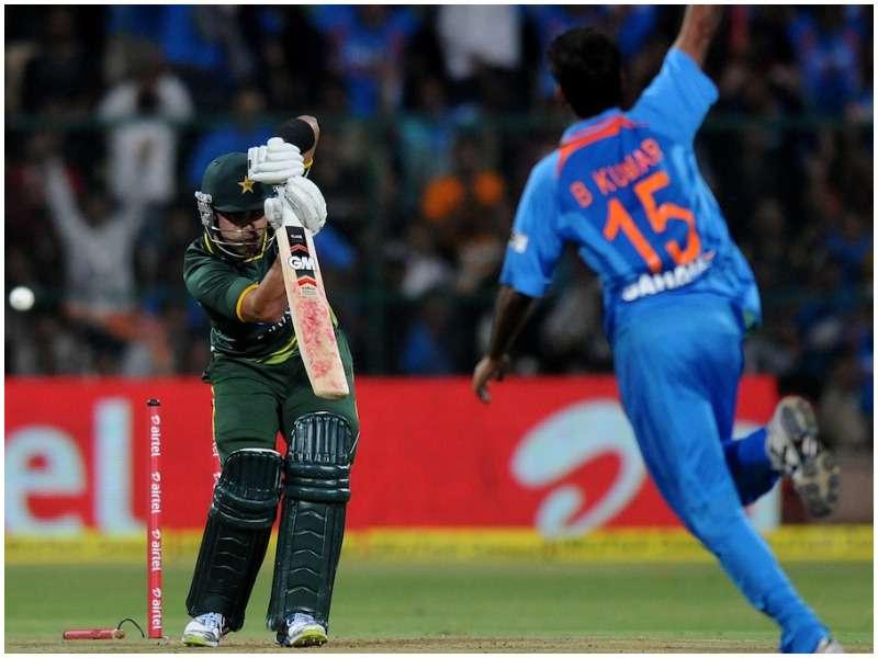 Image result for bhuvneshwar kumar debut match vs pakistan