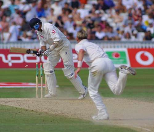 England Australia Kennington Oval 2001
