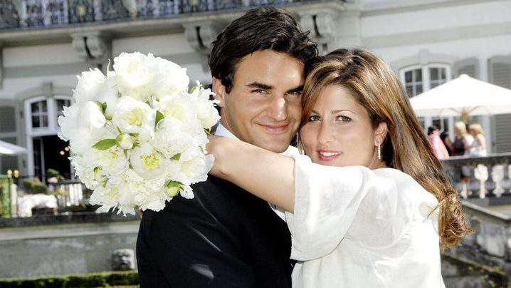 Roger and Mirka Federer