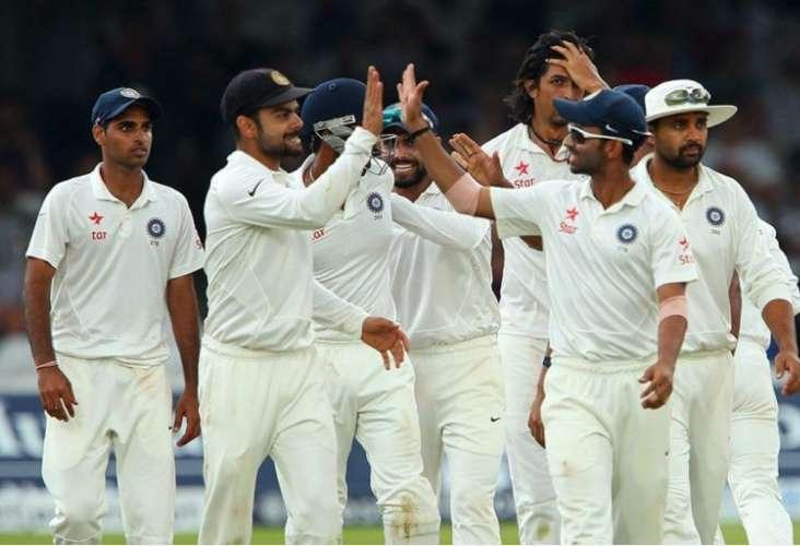 test match score england v india