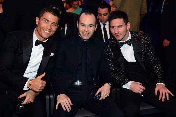 Samuel Eto'o prefers Andres Iniesta to Lionel Messi and Cristiano Ronaldo; says Iniesta deserves four Ballon d'Ors