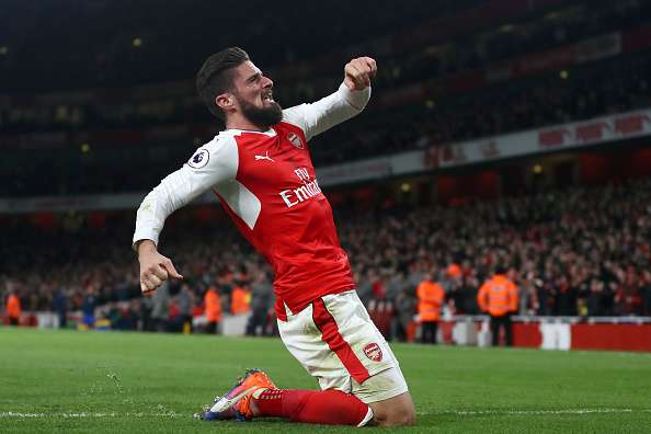 EPL 2016 17 In Olivier Giroud Arsenal Suddenly Have A Long Awaited