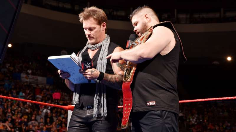 Image result for kevin owens and chris jericho