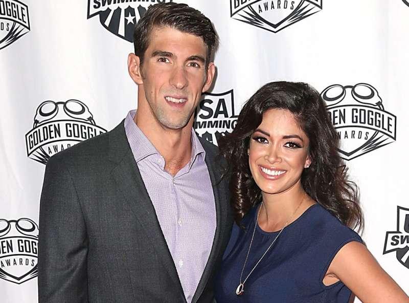 Michael and Nicole Phelps