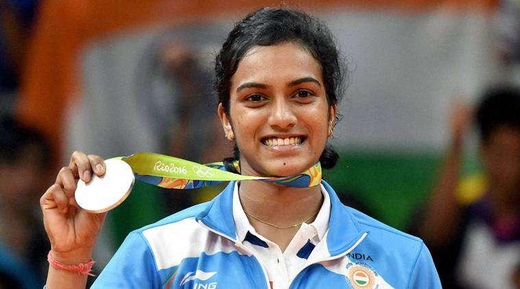PV Sindhu silver medal