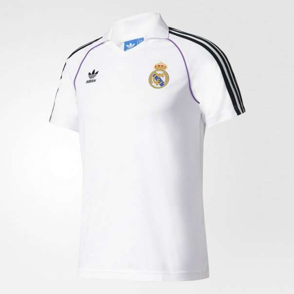 The main kit consists of the traditional Adidas stripes (Image credit  Footy  Headlines) a812a4b8c
