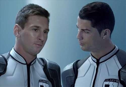 Ronaldo Messi commercial