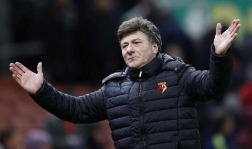 Britain Football Soccer - Stoke City v Watford - Premier League - bet365 Stadium - 3/1/17 Watford manager Walter Mazzarri looks dejected after the game Reuters / Darren Staples Livepic