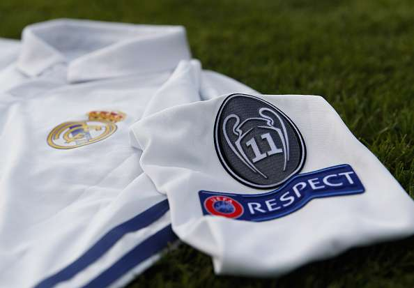 Real Madrid s 2017 18 kit leaked by Spanish news station d91e001c2