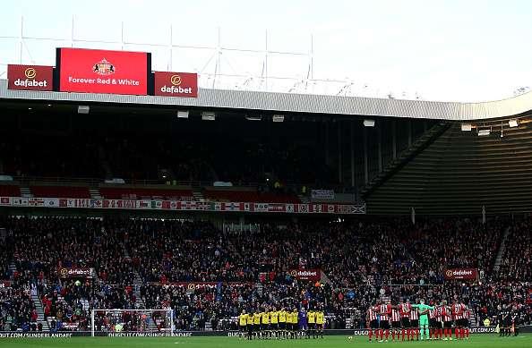 Stadium of ghosts?