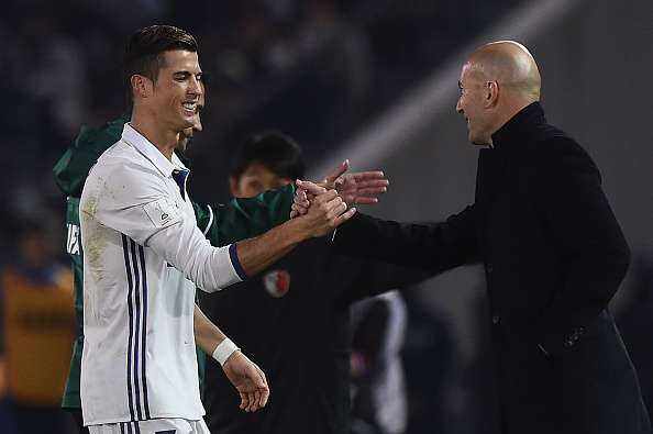 Real Madrid manager Zinedine Zidane feels Cristiano Ronaldo should have won more Ballon d'Ors