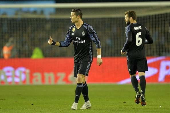 c5548b56e Copa Del Rey 2016 17  Celta Vigo 2-2 (4-3 agg) Real Madrid