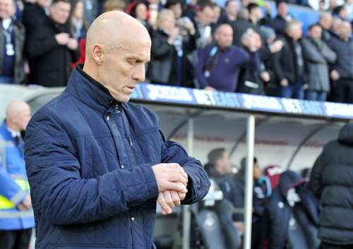 Out of time: Bob Bradley lasted less than three months at Swansea City