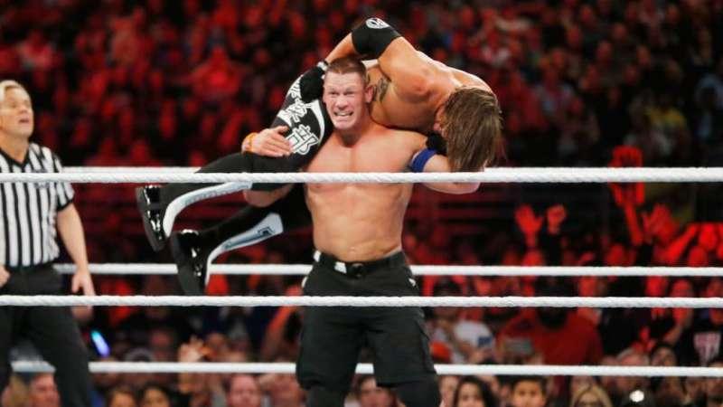 AJ Styles wybrał walkę z Johnem Ceną na swoją ulubioną