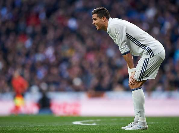 Cristiano Ronaldo Real Madrid Malaga