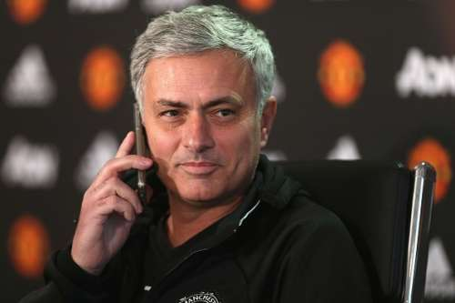 football managers players answer reporter phone