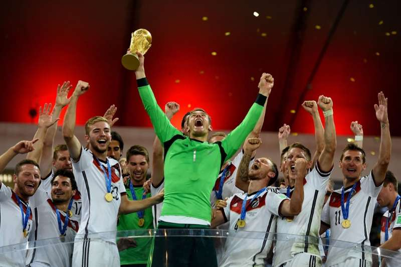 Germany Won The Biggest Trophy In World Sport
