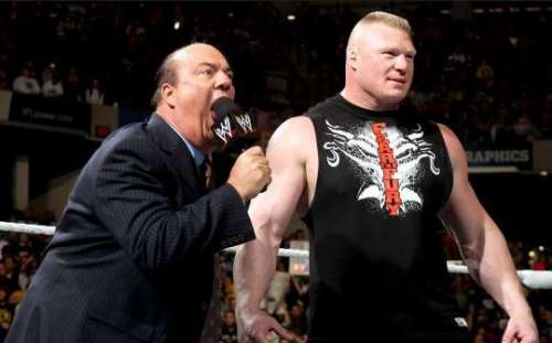Brock Lesnar Paul Heyman
