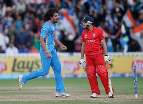 Ishant Sharma in action against England
