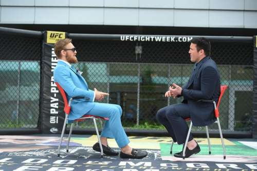 Conor and Chael are two of the greatest trash talkers in the history of the sport