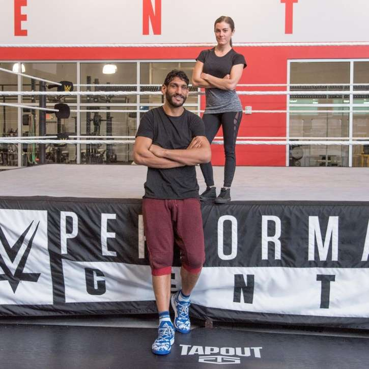 385ecc663 India s first NBA player Satnam Singh trains with WWE  likely to join WWE  soon