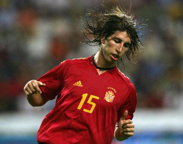 Image result for ramos spain debut