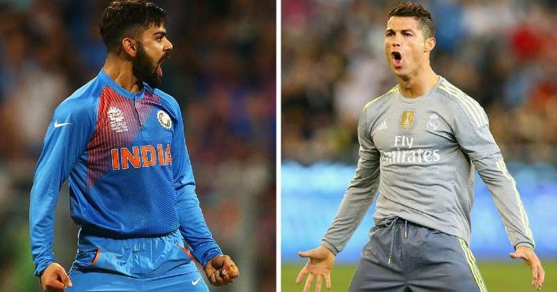promo code c538f a37a0 Nasser Hussain compares Virat Kohli to Cristiano Ronaldo ...