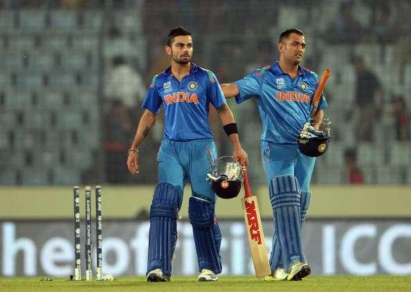 Kohli and Dhoni finished off the match