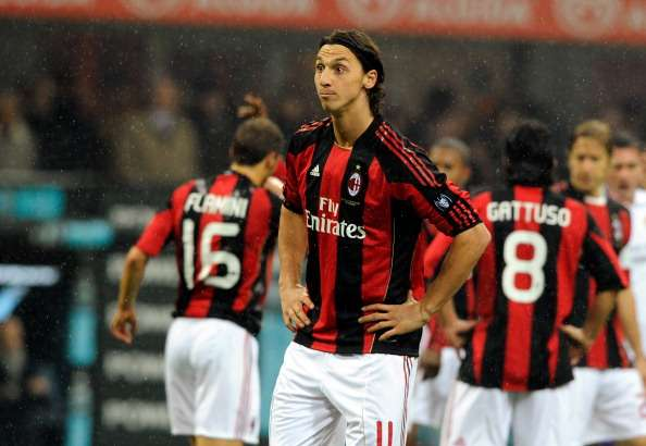 Ibrahimovic and Onyewu played together at AC Milan