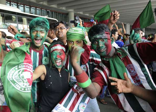Image result for mohun bagan fans