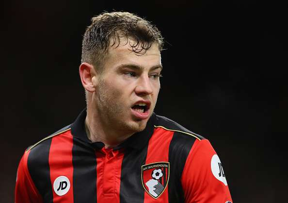 BOURNEMOUTH, ENGLAND - JANUARY 03:  Ryan Fraser of Bournemouth AFC in action during the Premier League match between AFC Bournemouth and Arsenal at Vitality Stadium on January 3, 2017 in Bournemouth, England.  (Photo by Warren Little/Getty Images)