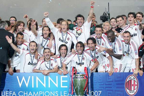 One of the all-time greats: AC Milan