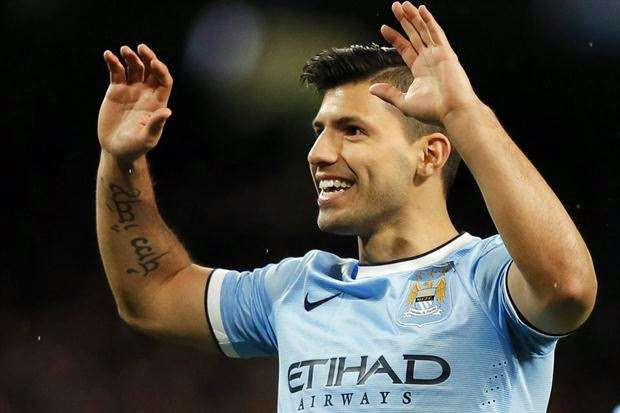 Sergio Aguero tattoo, the Argentinean number 10 from Buenos Aires, Argentina