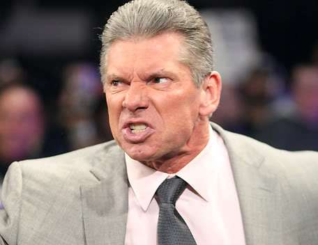 Image result for vince mcmahon angry