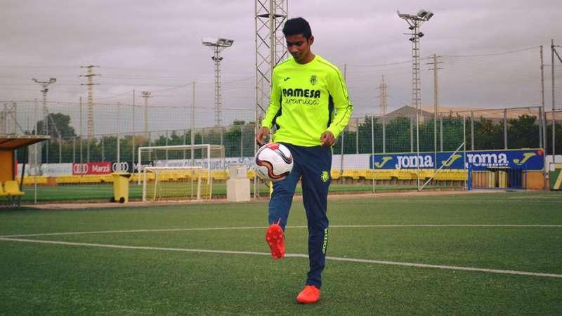 5273c5e21 Ashique Kuruniyan to return home from Villarreal CF after getting a ...