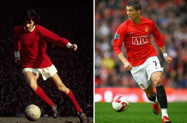 Cristiano Ronaldo George Best