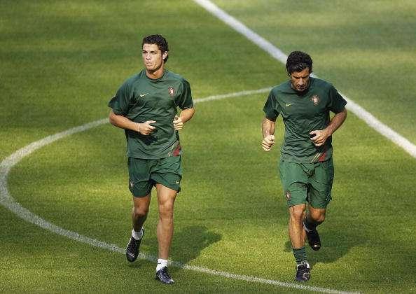 Cristiano Ronaldo Luis Figo