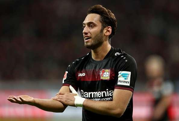 Hakan Calhanoglu 4 month ban FIFA Bayer Leverkusen
