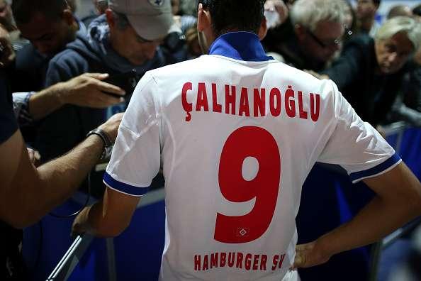 Hakan Calhanoglu Hamburger SV