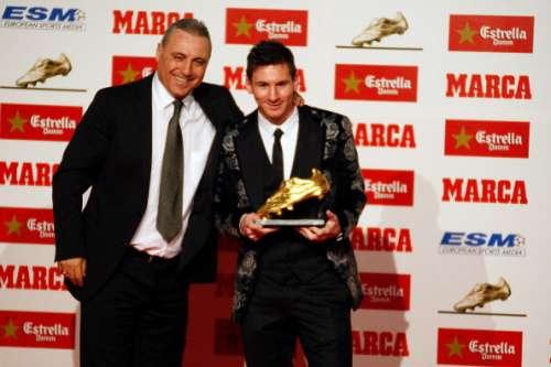 Hristo Stoichov Lionel Messi