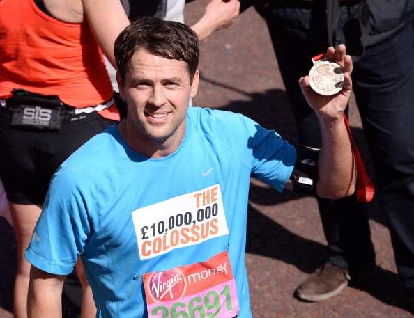 Michael Owen London Marathon