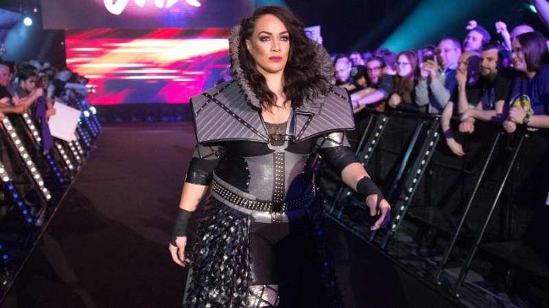 Nia Jax at the Royal Rumble 2017