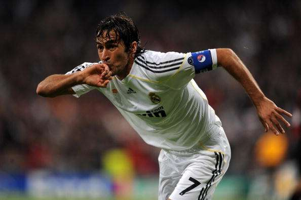 Raul captained Real Madrid for seven years