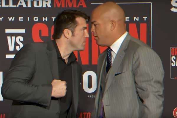 Sonnen and Ortiz had the perfect babyface vs. heel rivalry very recently