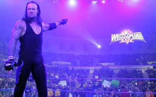 The Undertaker planned to bow out in Texas last year.