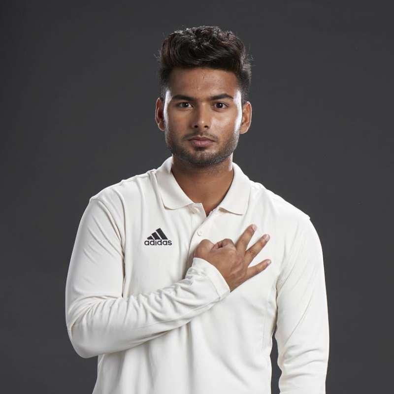 Rishabh Pant joins Adidas Cricket