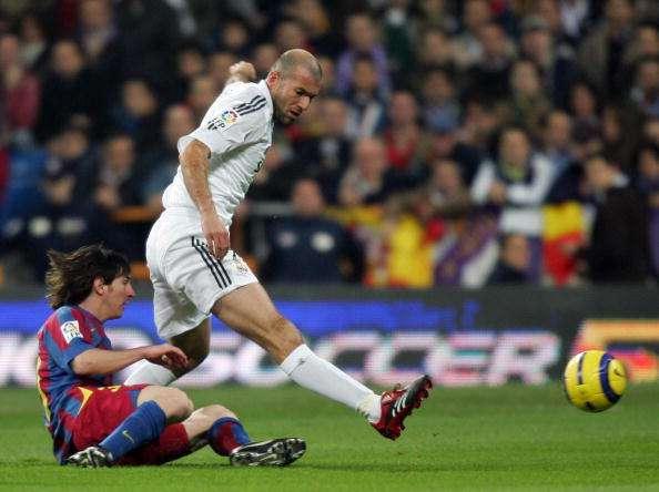 Zinedine Zidane Lionel Messi